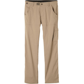 "Prana M's Stretch Zion Pants 32"" Inseam Dark Khaki"